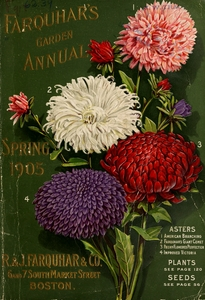 Thumbnail for the first (or only) page of Farquar's Garden Annual, 1905, Front Cover.