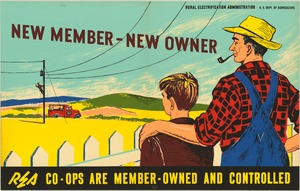 Thumbnail for the first (or only) page of New Member-New Owner. REA Co-ops Are Member-Owned and Controlled..