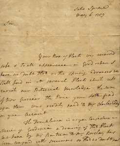 Banks to Marshall, May 6, 1789