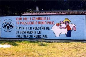 Thumbnail for the first (or only) page of Sign Outside Tuxtla Gutierrez Fly Production Plant.