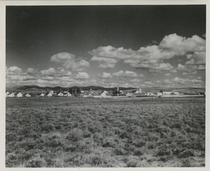 Thumbnail for the first (or only) page of View of Sheep Station and Laboratory at Dubois, Idaho.