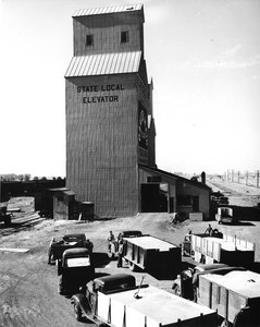 Thumbnail for the first (or only) page of Grain elevator.