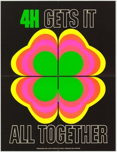 Thumbnail for the first (or only) page of 4H Gets It All Together (1973)..
