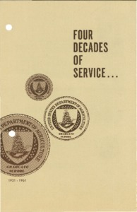 Thumbnail for the first (or only) page of Four Decades of Service….