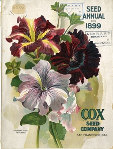 Thumbnail for the first (or only) page of Front Cover of Cox Seed Company.