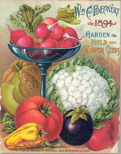 Thumbnail for the first (or only) page of William C. Beckert's Garden Field and Flower Seeds.