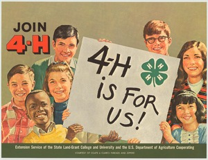 Thumbnail for the first (or only) page of 4-H is For Us! (1970)..