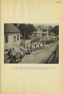 Thumbnail for the first (or only) page of Corn Club Parade, Texas.