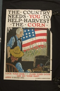 Thumbnail for the first (or only) page of The Country Needs You To Help Harvest The Corn.