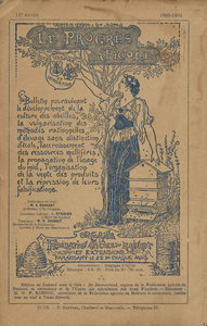 Thumbnail for the first (or only) page of Le progrès apicole.