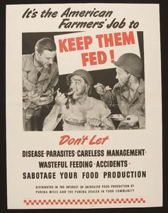 Thumbnail for the first (or only) page of It's the American Farmers' Job to Keep Them Fed!.