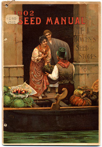 Thumbnail for the first (or only) page of E.J. Bowen's Seed Stores, Seed Manual.