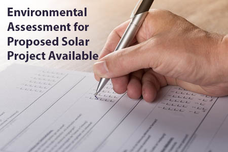 Environmental Assessment Report Available