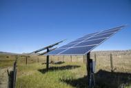Solar panels at Sauerbier Ranches LLC.