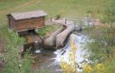 Small hydropower intake system (Image source: Colorado Energy Office)