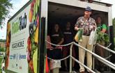 Food Hub truck (Source Leopold Center/Iowa State.)