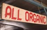All Organic Wooden Sign