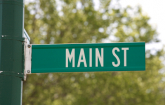 "Road Sign with text ""Main Street"". (iStock)"