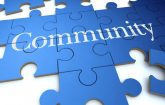 "a blue puzzle with the word ""Community"": Copyright iStock Photos"