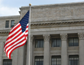 USDA Building and U.S. Flag (Copyright IStock).