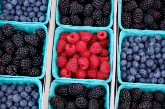 Blackberries, blueberries and raspberries. (Copyright IStock.)