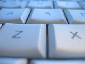 close-up of a computer keyboard