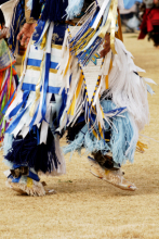 Native American in cultural dress and dance: Copyright iStock Photos